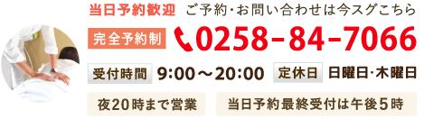 電話番号 0258847066